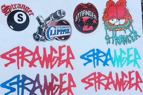 Stranger New Sticker Pack (8 Pieces)
